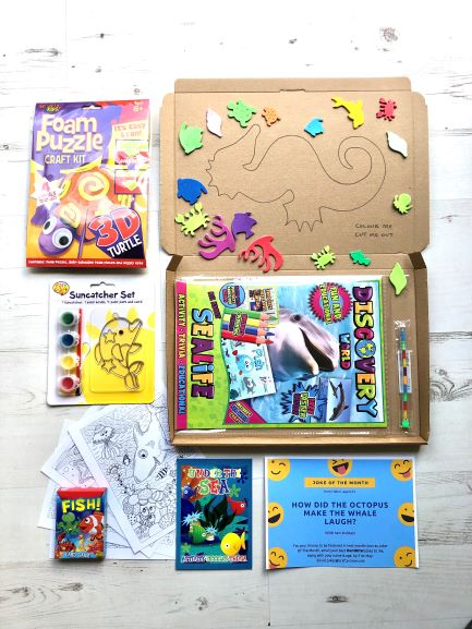 Activity Packs For Kids - 5 Things To Put In A Kids Activity Pack