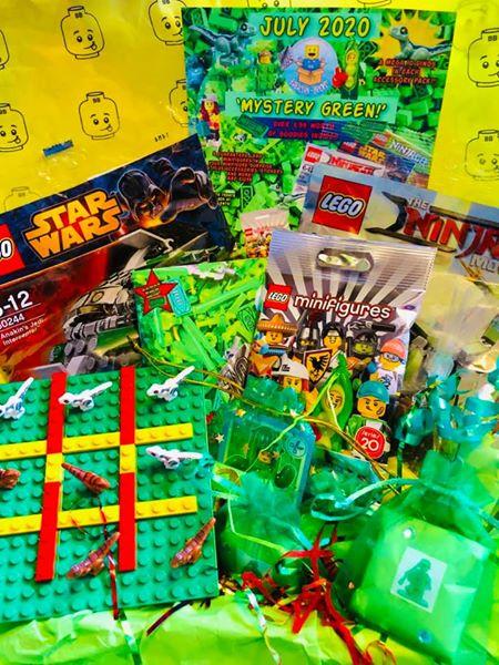 July 2020 Box 'Mystery Green!'