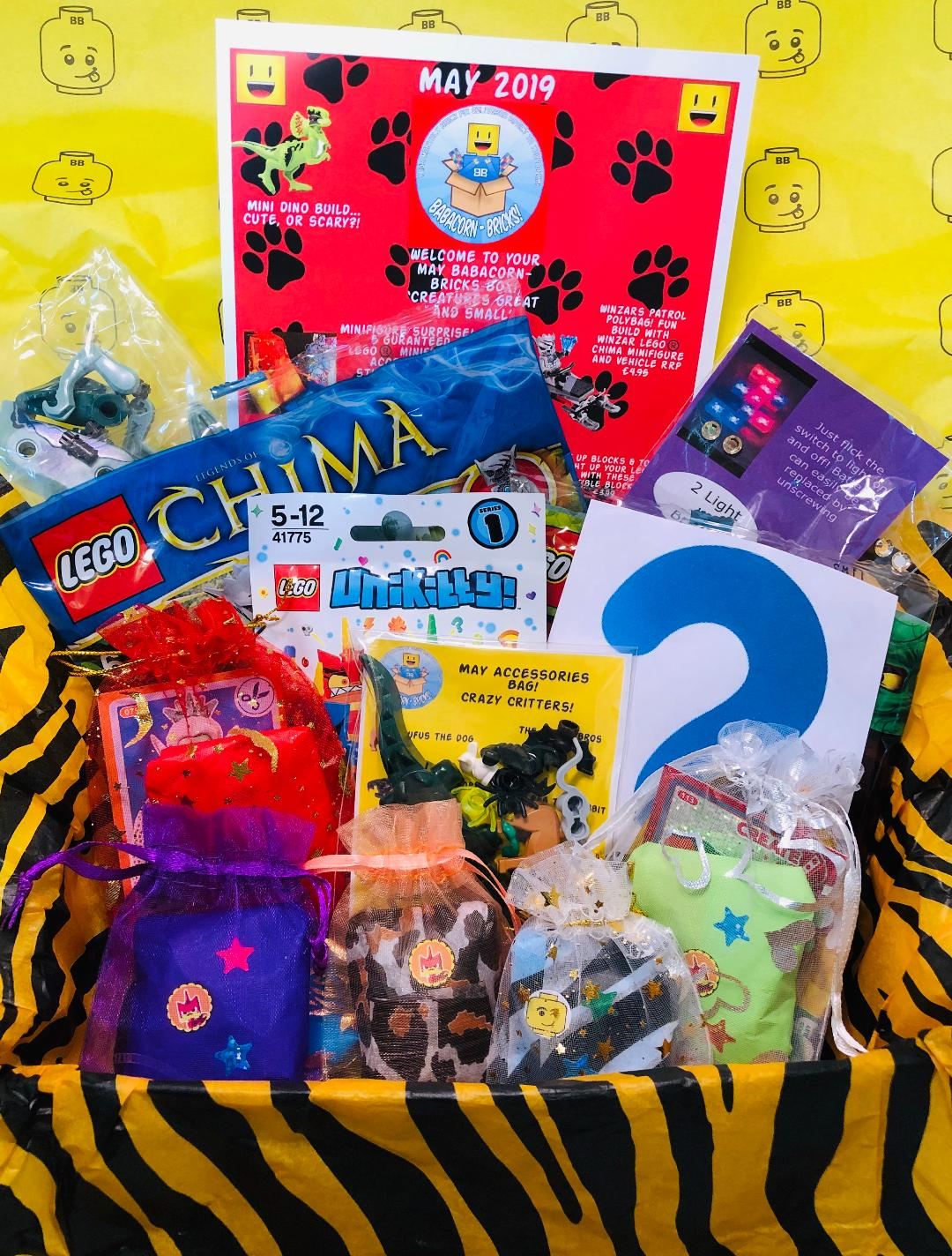 May 2019 Box 'Creatures Great and Small'