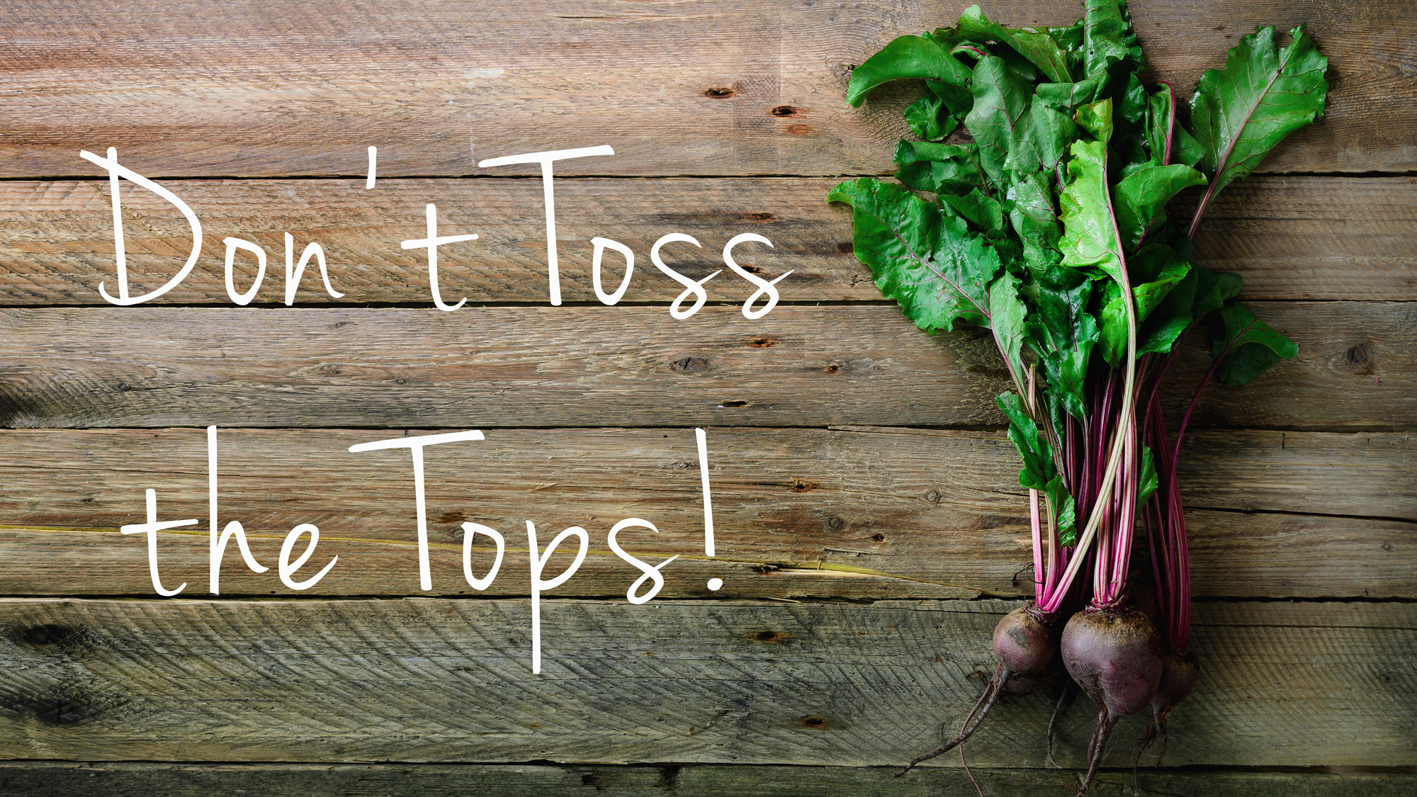 Get the most out of your food