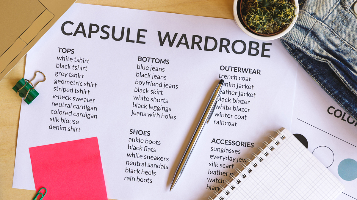 Sustainability and Savings with a Capsule Wardrobe