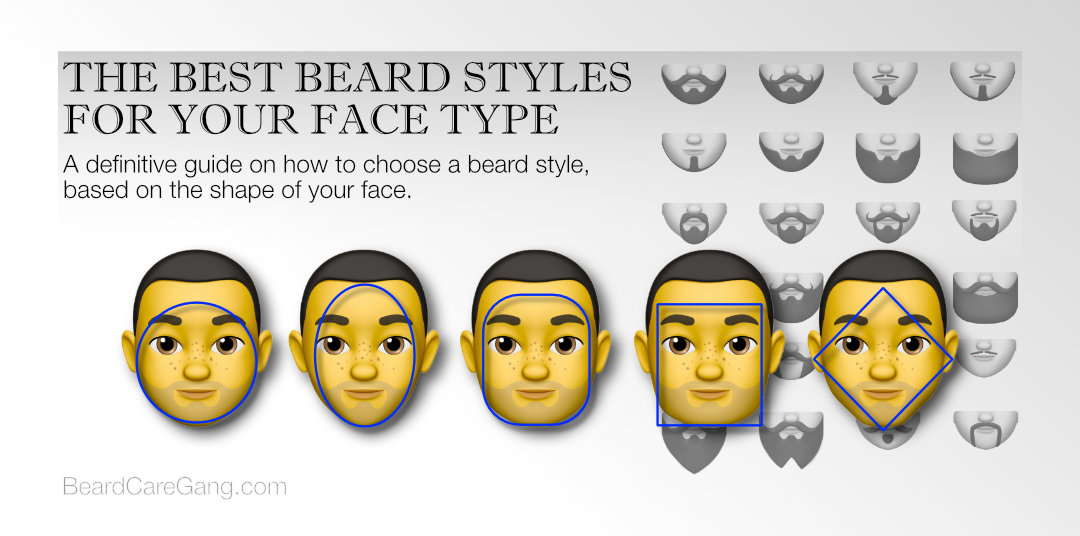THE BEST BEARD STYLES FOR YOUR FACE TYPE