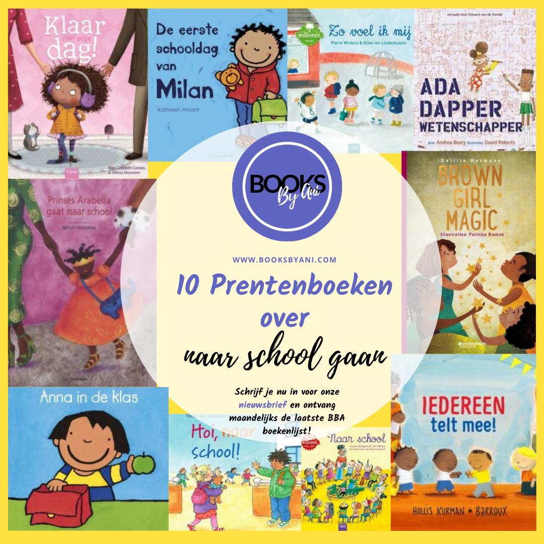 Books By Ani: weer naar school #boekentips!