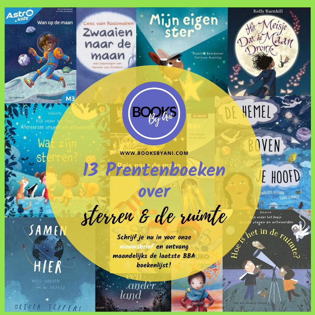 Books By Ani: 13x prentenboeken over sterren en de ruimte.