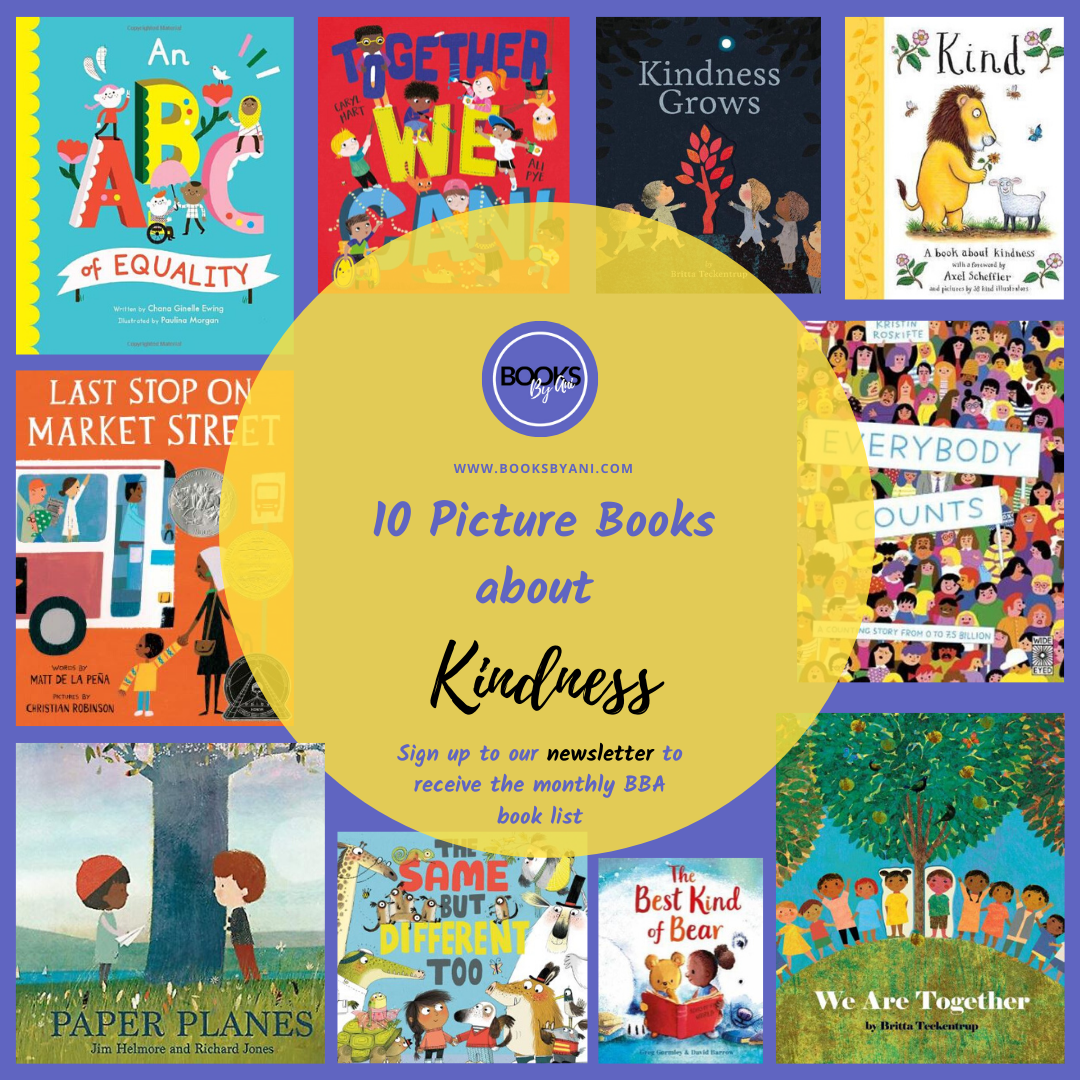 10 Picture books about Kindness