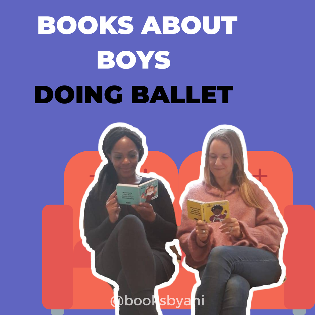 Books about boys doing ballet.