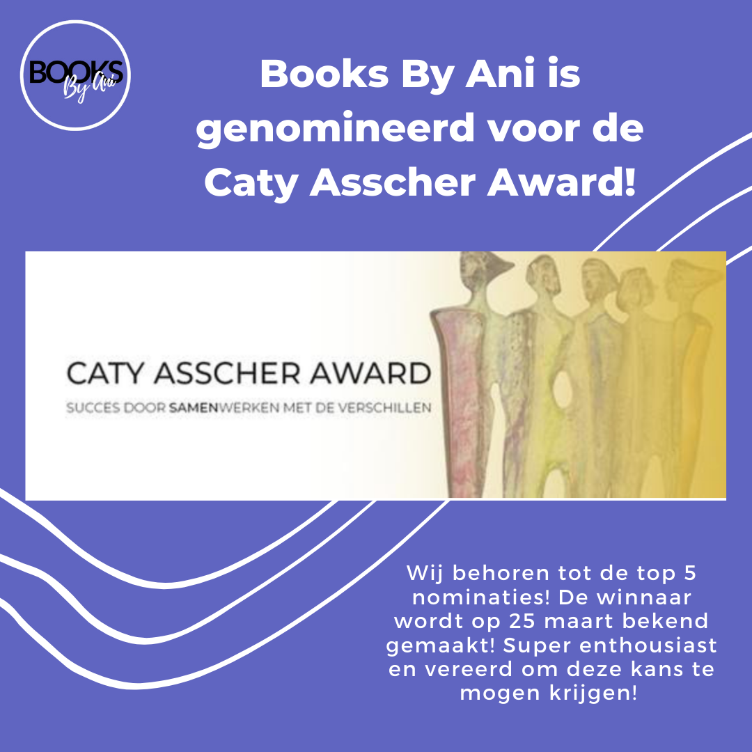 Books By Ani is genomineerd voor de Caty Asscher Award!