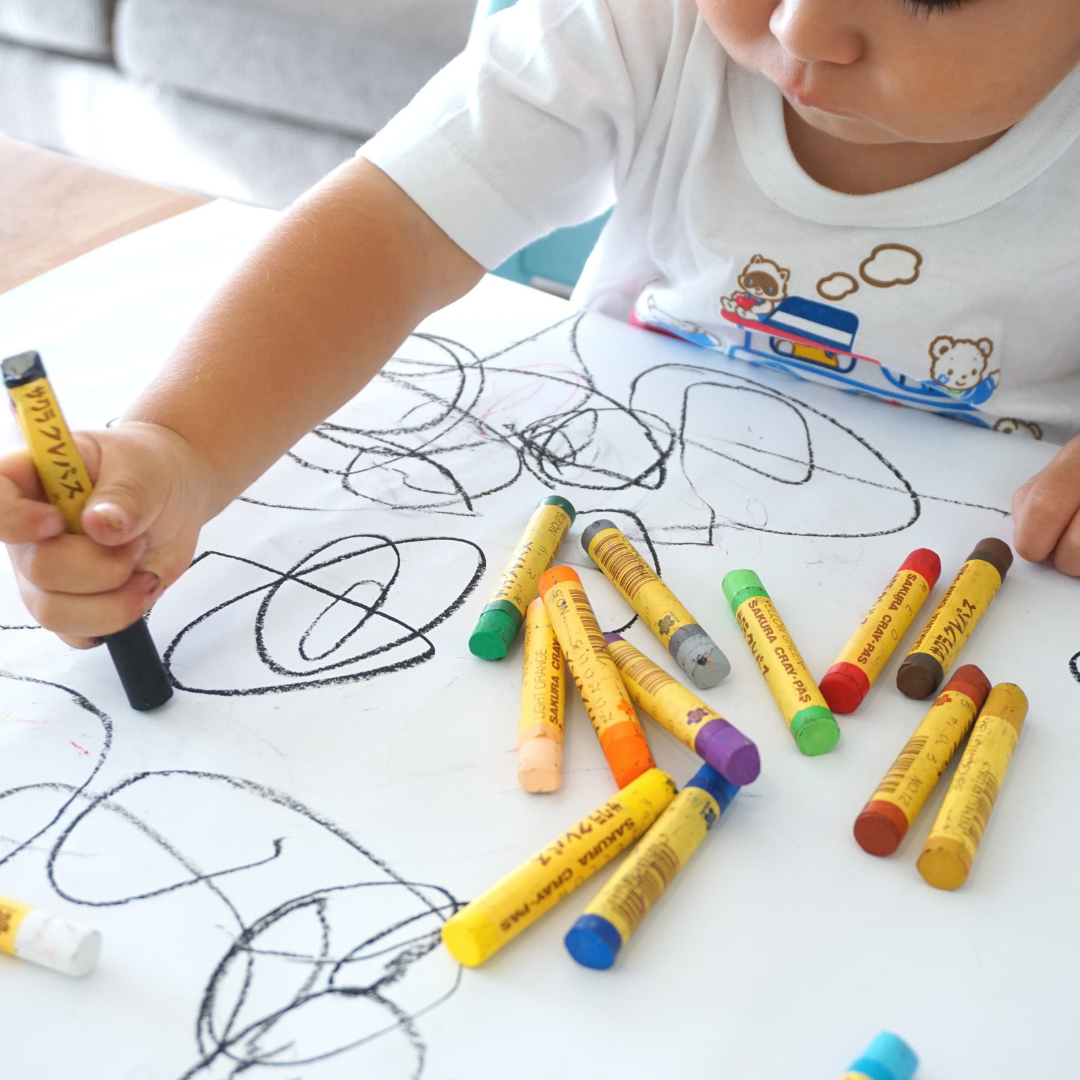 Are you worried your child doesn't like to write or draw?