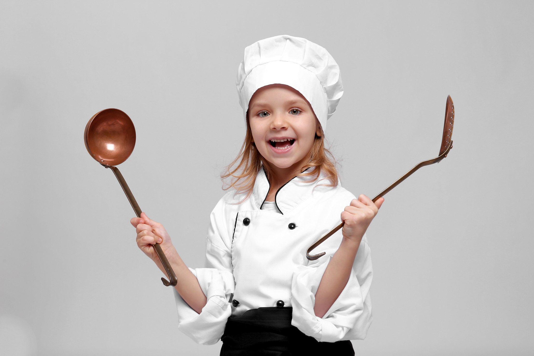 Why is it important to cook with kids?