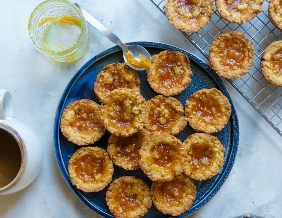 Preserved Lemon Marmalade Cookies