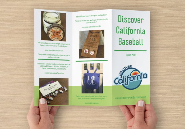 What's Inside - California Baseball