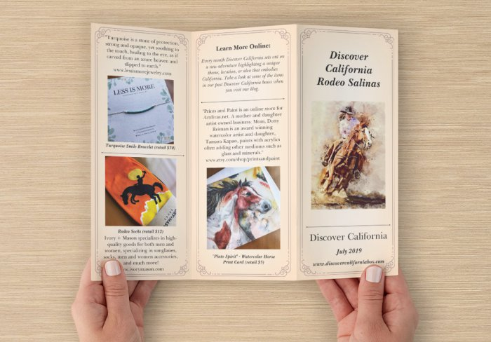 What's Inside - California Rodeo Salinas