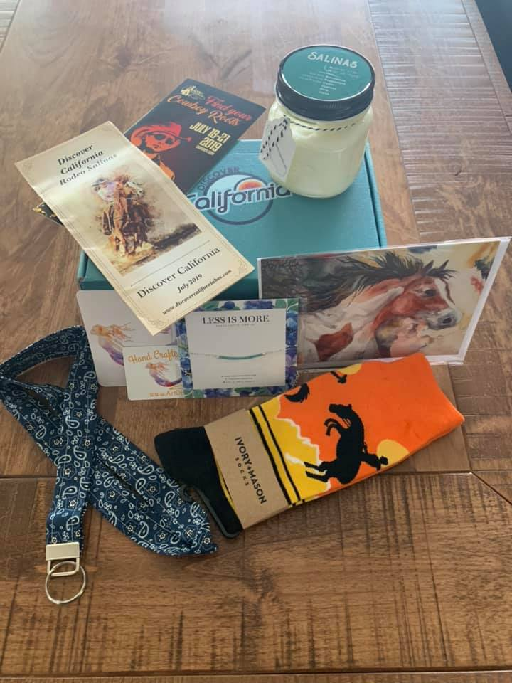 """So fun to receive my Discover California box and learn new and interesting things about my home state!  Love this box!!"" - Sunray"