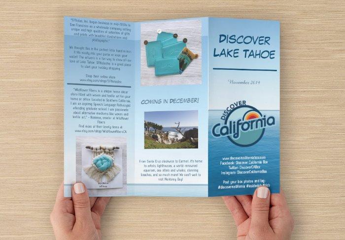 What's Inside - Lake Tahoe