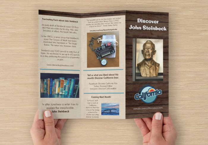What's Inside - Author John Steinbeck