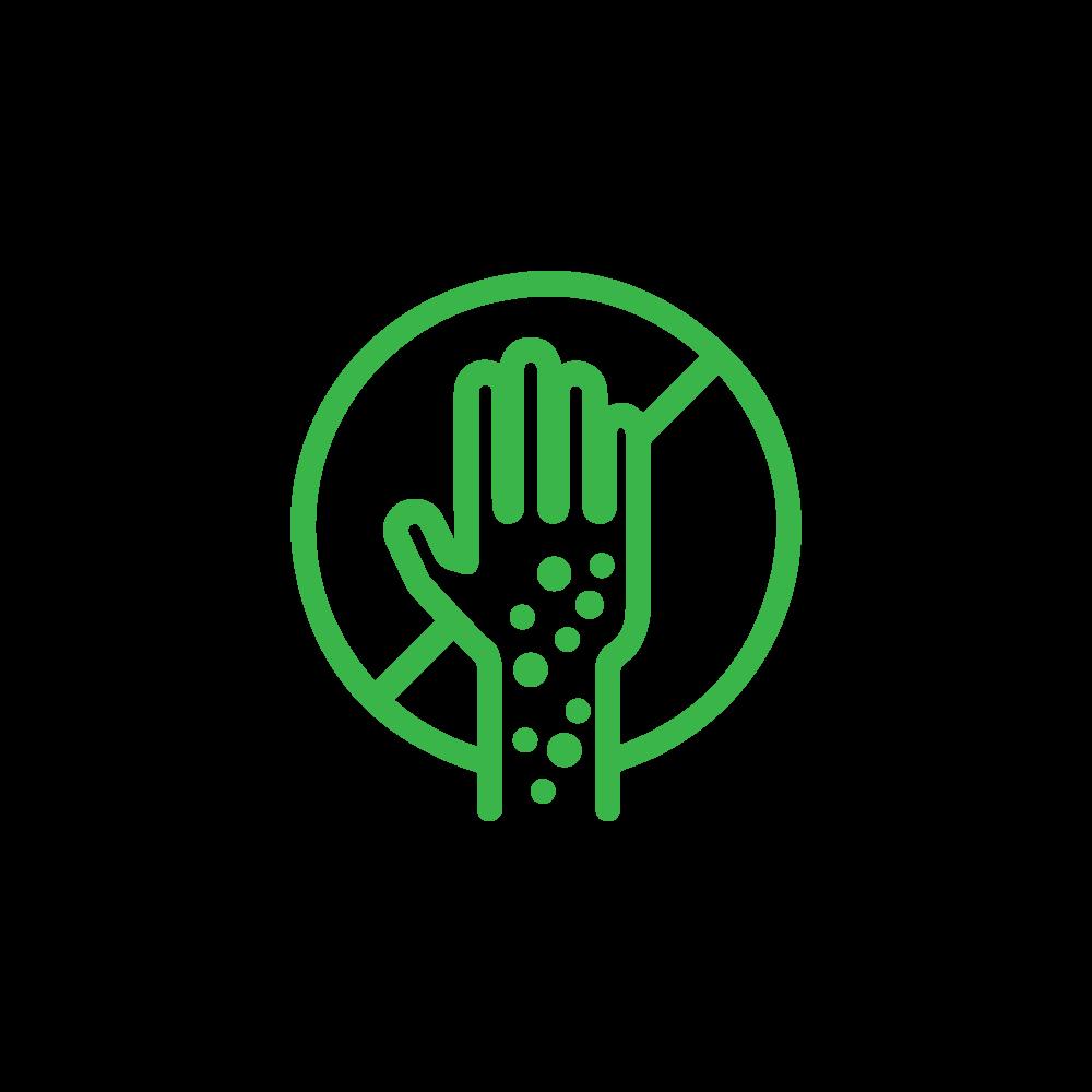 Allergen free symbol