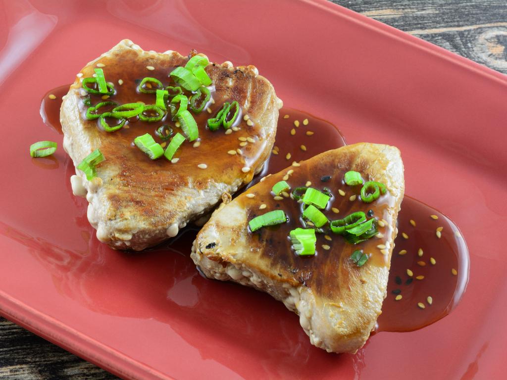 Recipe: Marinated Ahi Tuna Steak