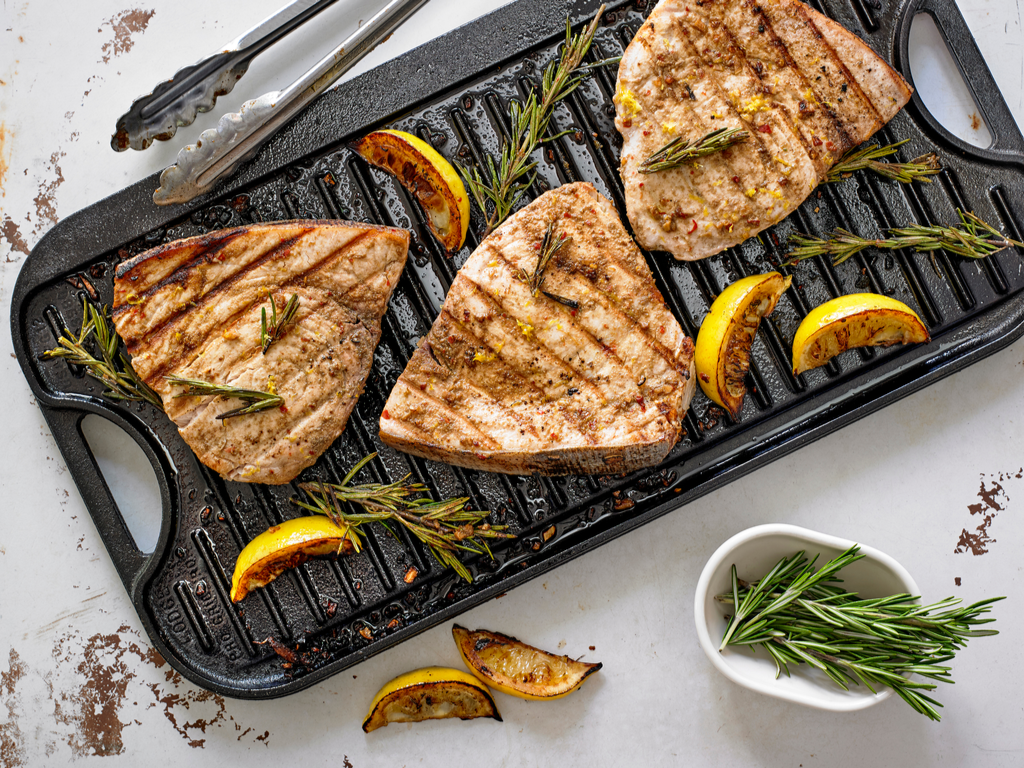 Recipe: Simply Grilled Swordfish