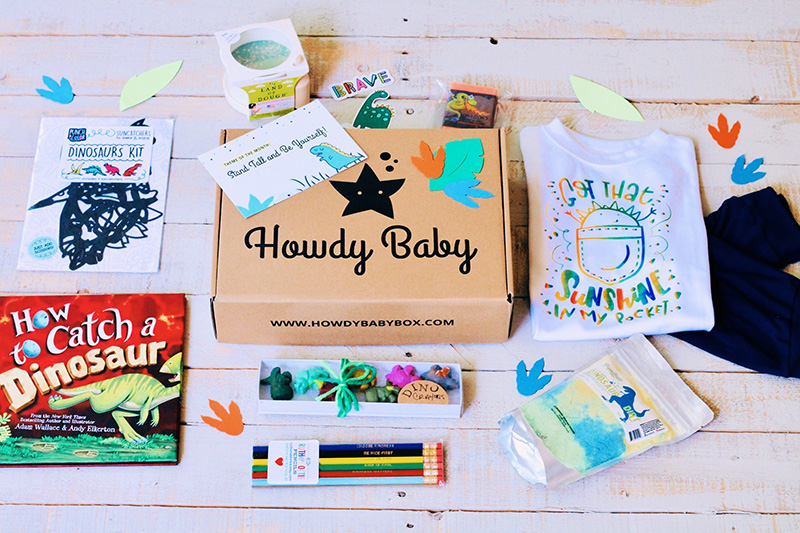 Howdy Kids Unboxing - August 2021