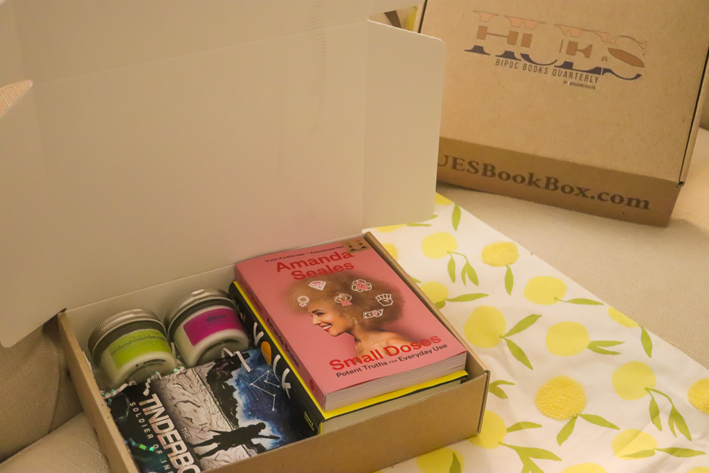 HUES Book Box: Here's what was in the June 2021 Summer box.