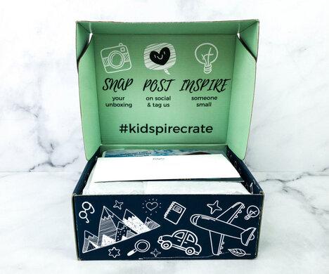 Kidspire Crate March 2021 FULL Spoilers