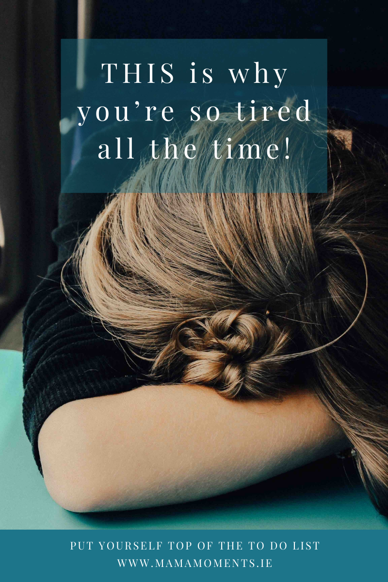 THIS is why you're so tired all the time!