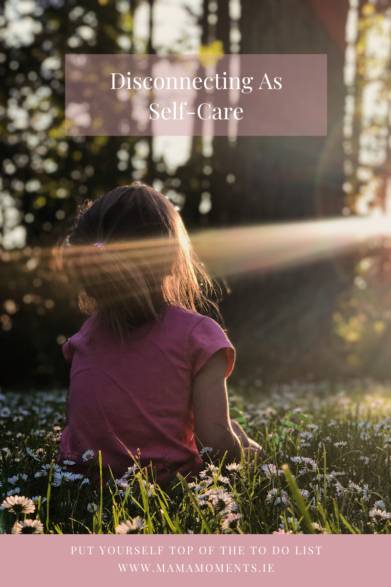 Disconnecting As Self-Care
