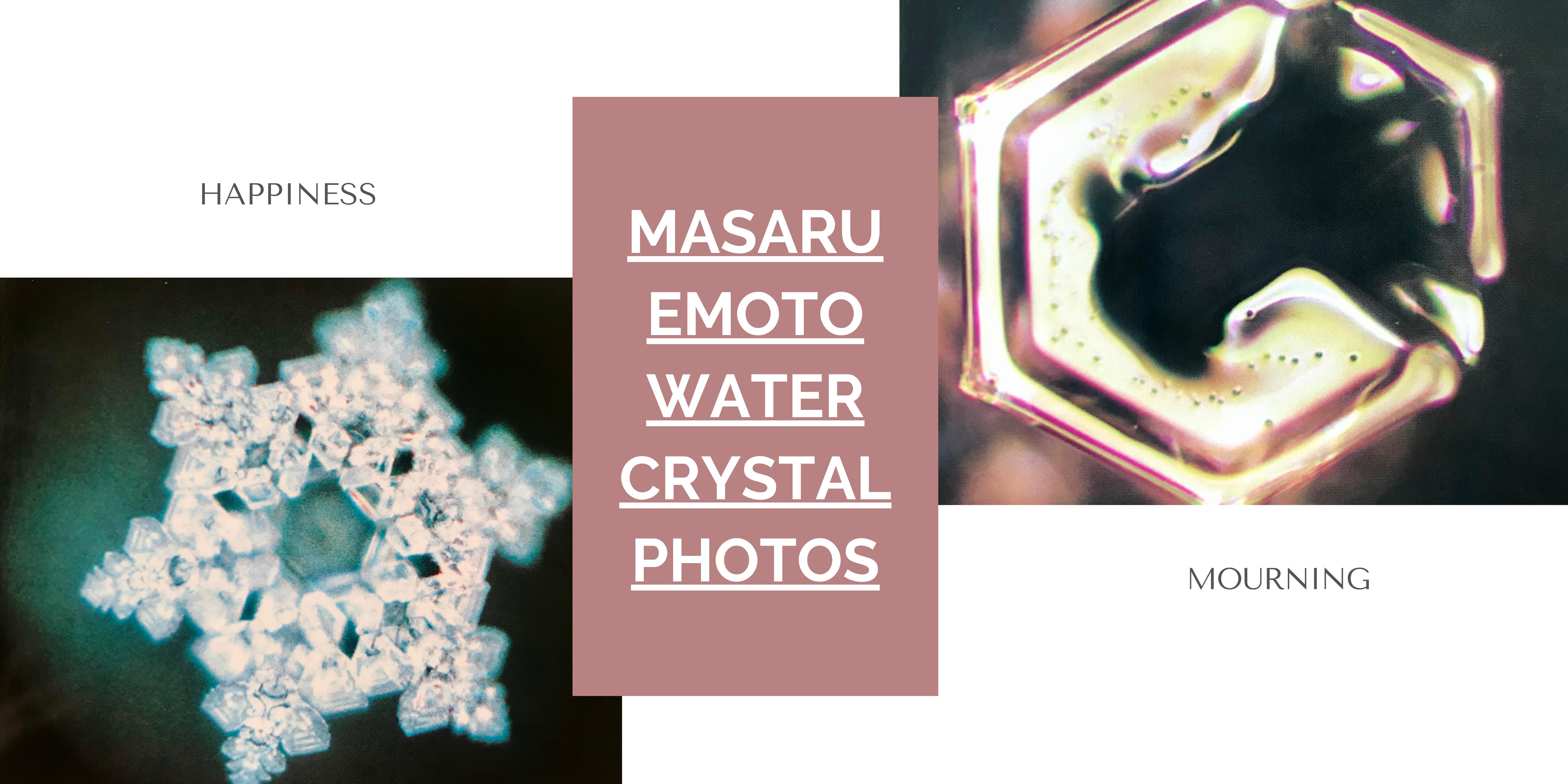 Masaru Emoto's Water Crystal Photos