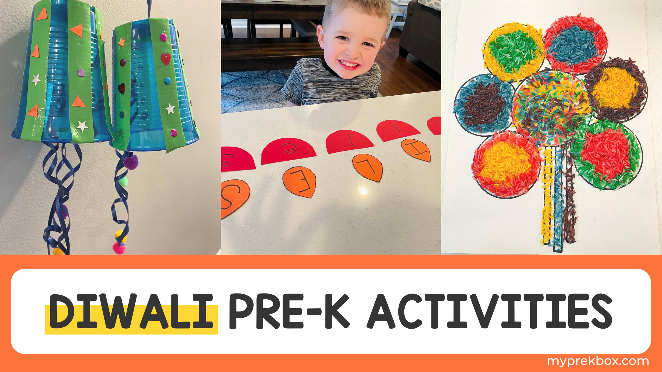 Diwali Preschool Activities