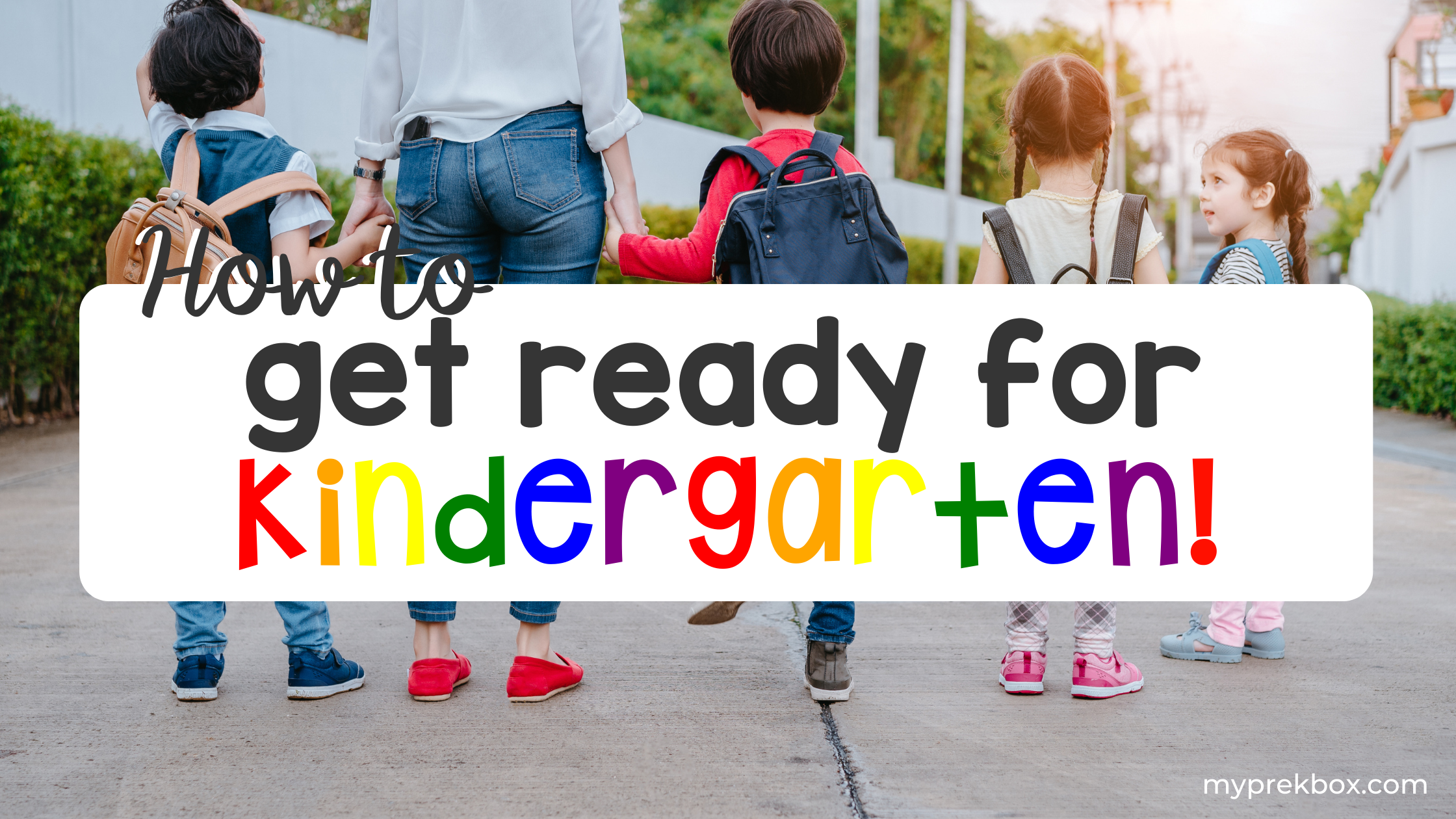 Get Ready for Kindergarten with a Monthly Preschool Learning Kit