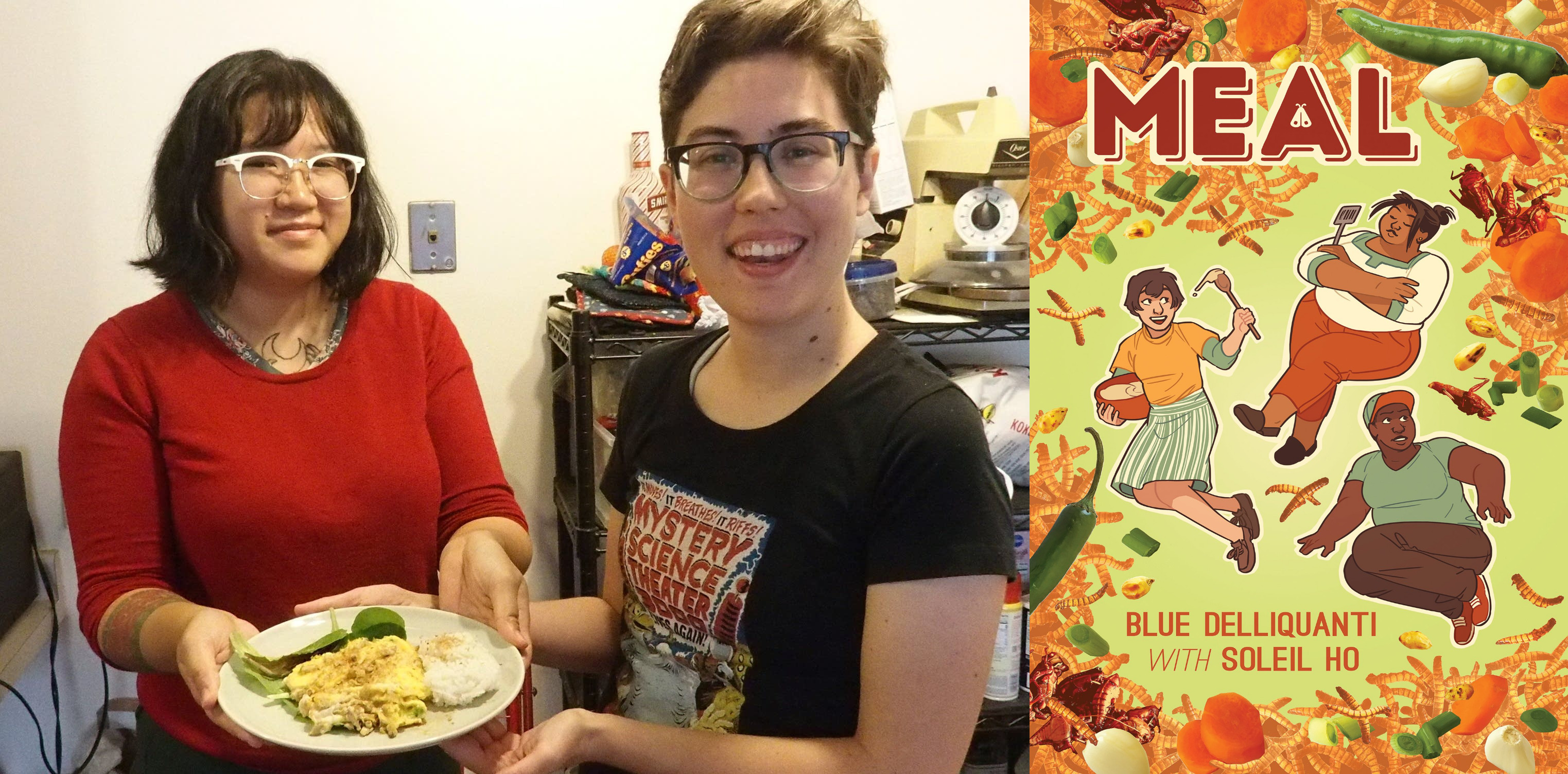 "Book Review: Blue Delliquanti and Soleil Ho's ""Meal"""