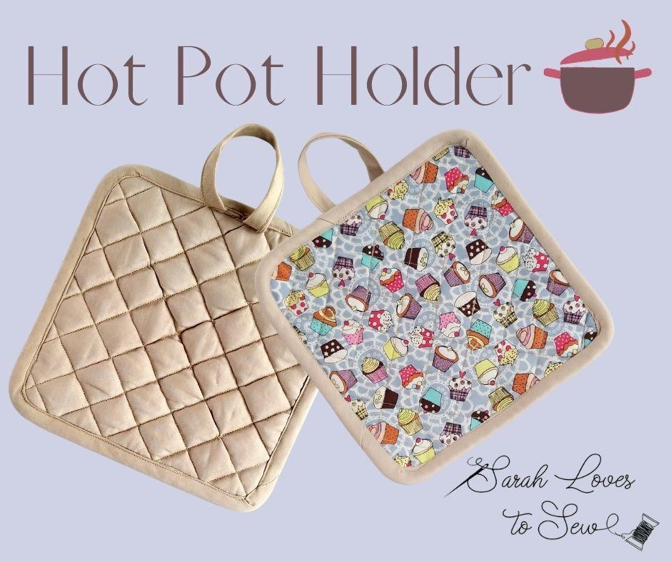 August - Hot Pot Holder