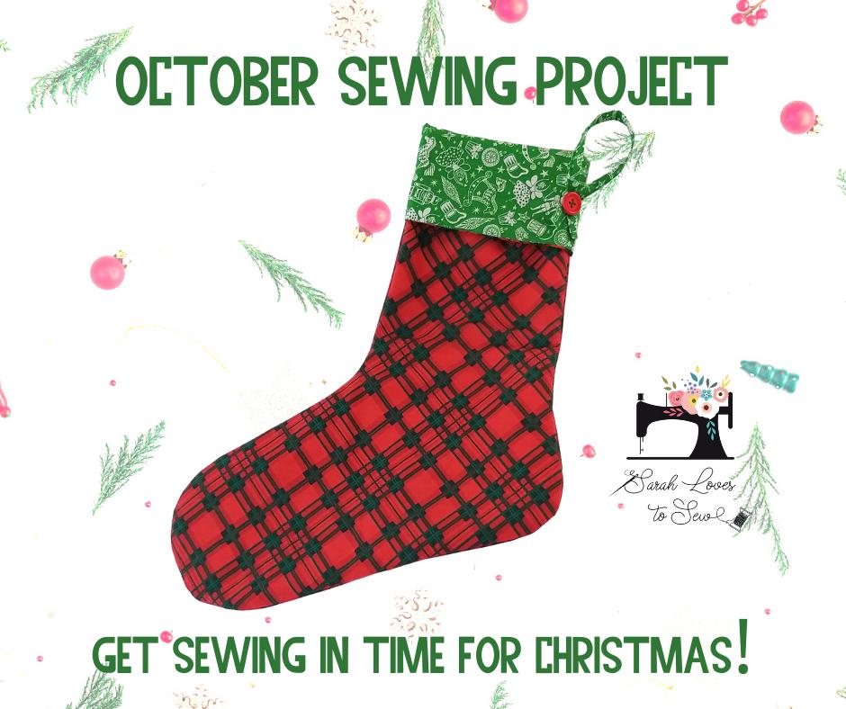 October - Christmas Stocking!