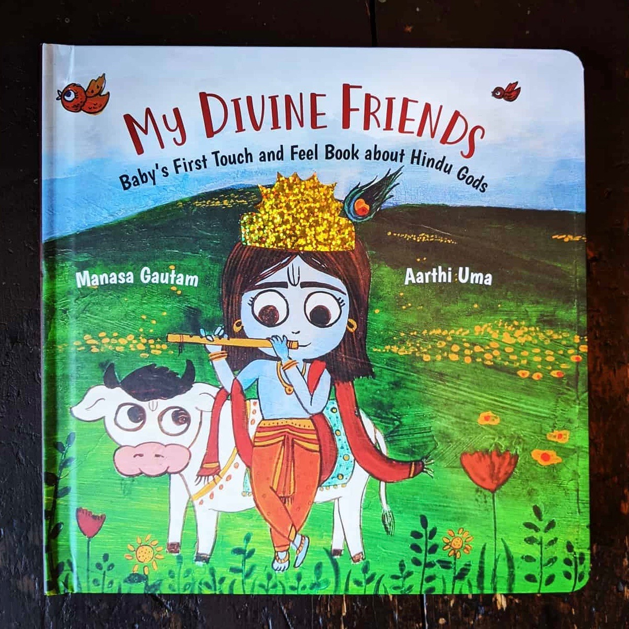 #MCBD2020 Book Review: My Divine Friends- Baby's First Touch and Feel Book about Hindu Gods