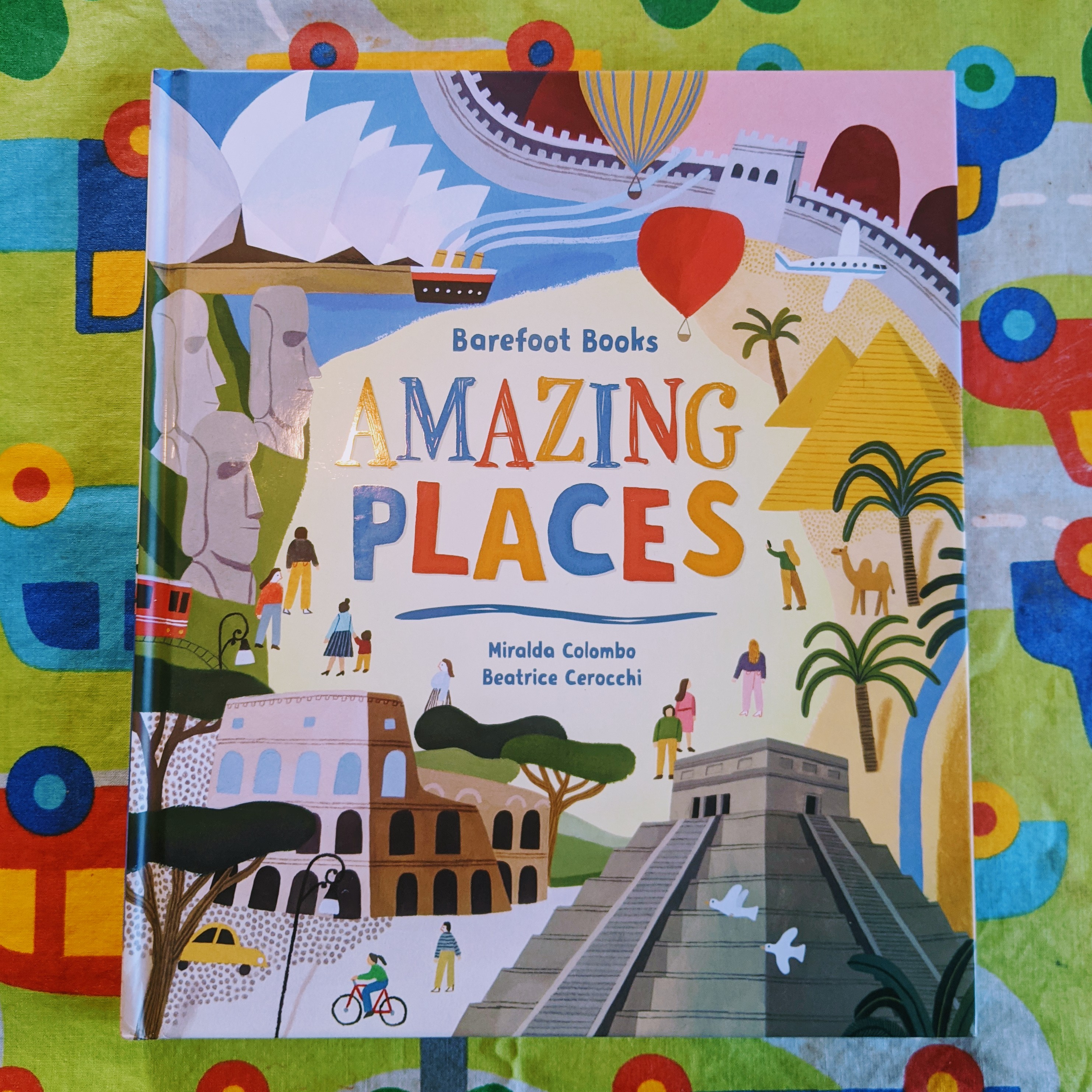 #MCBD2021 Book Review: Barefoot Books Amazing Places