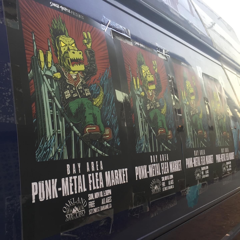 SKA BOX goes to the Punk-Metal Flea Market!