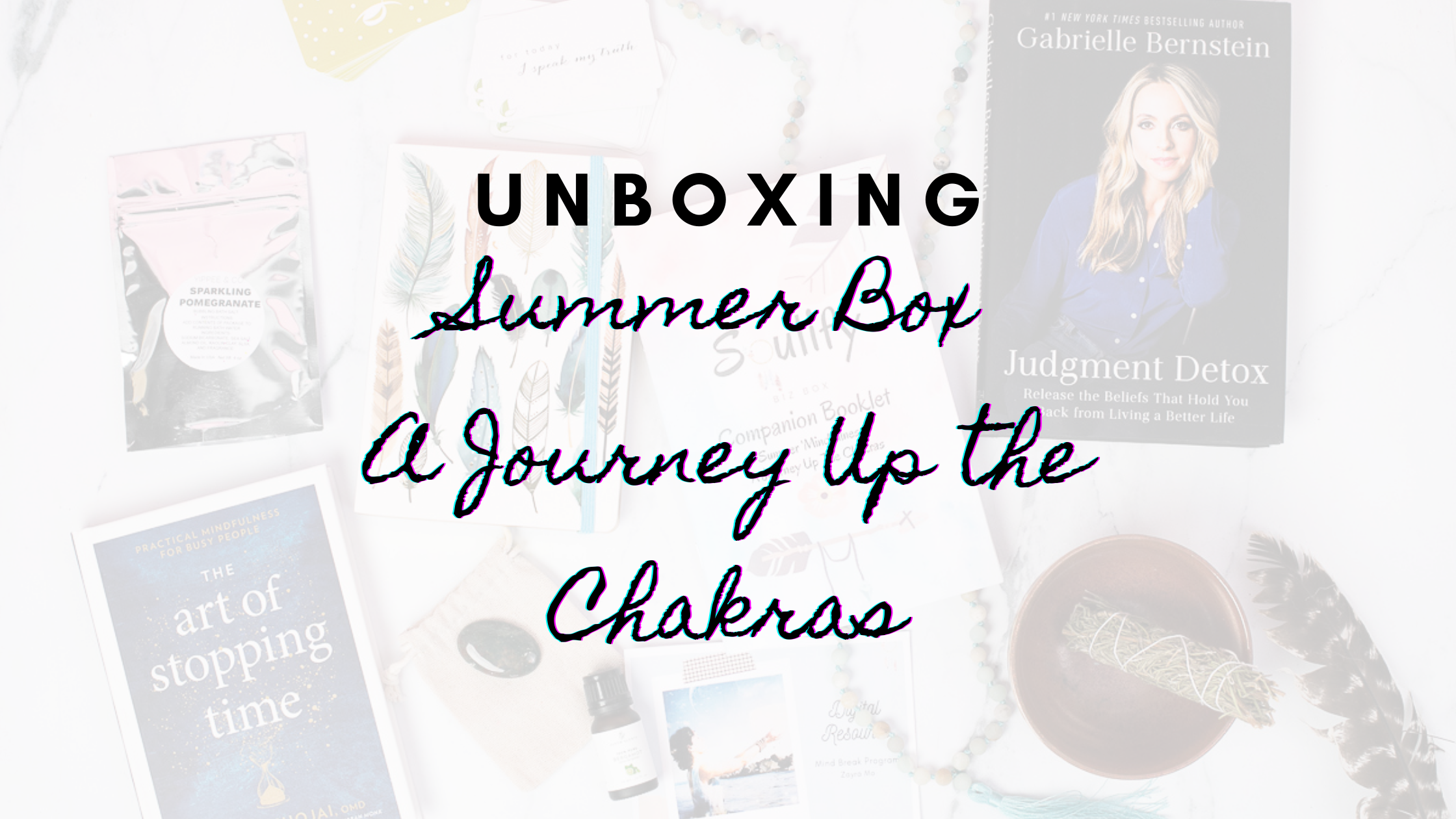 Unboxing The Summer Box