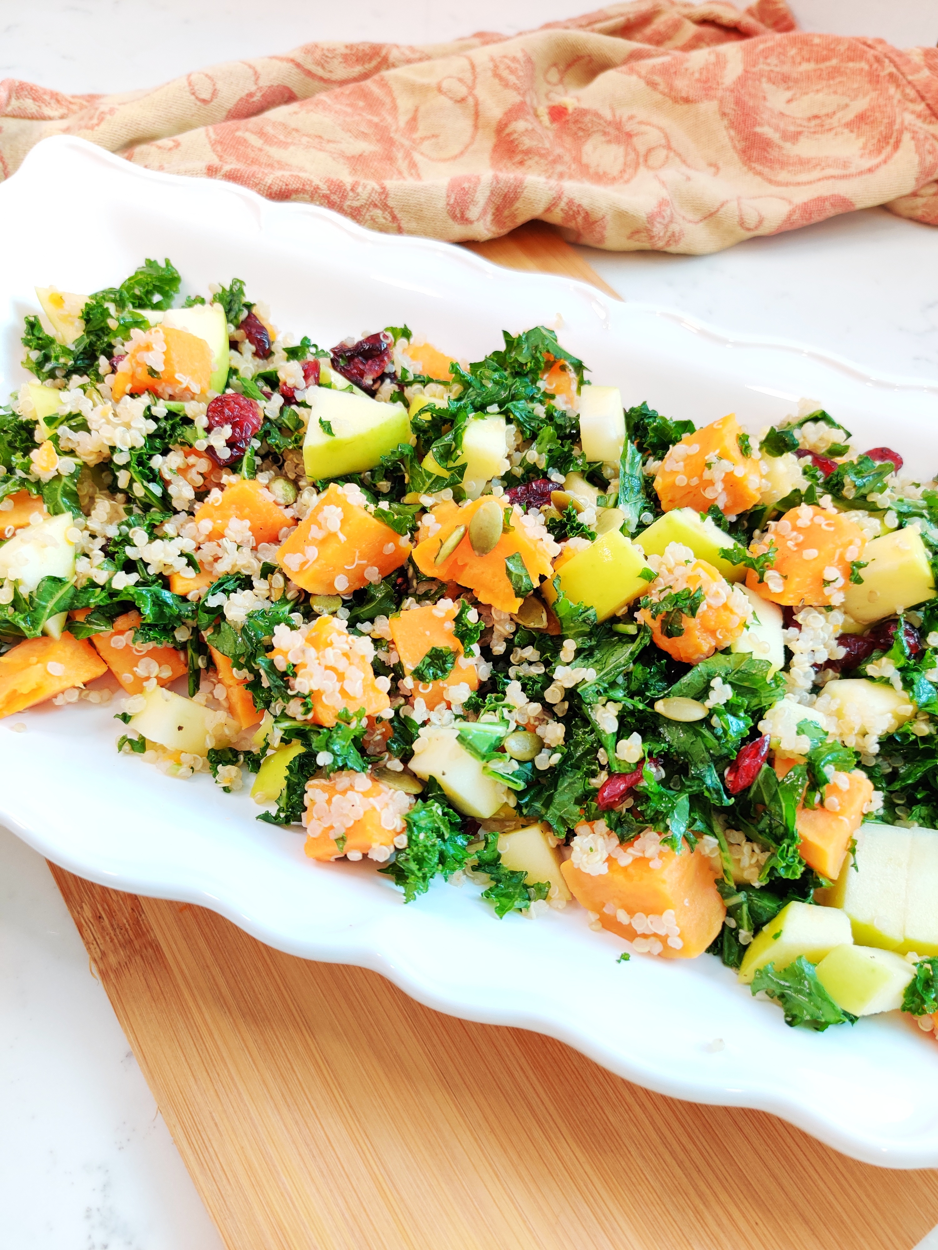 Sweet Potato, Kale, and Quinoa Salad