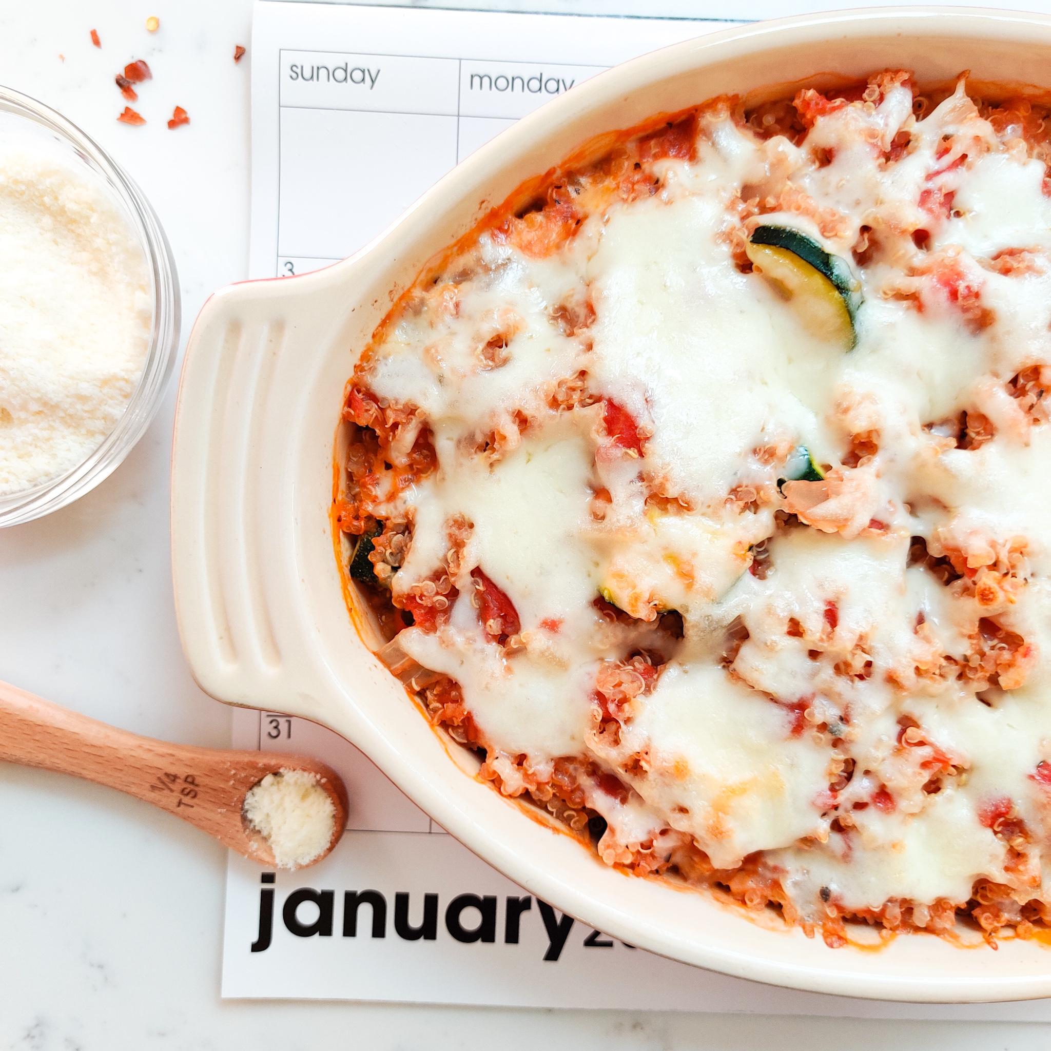 Italian Quinoa Bake