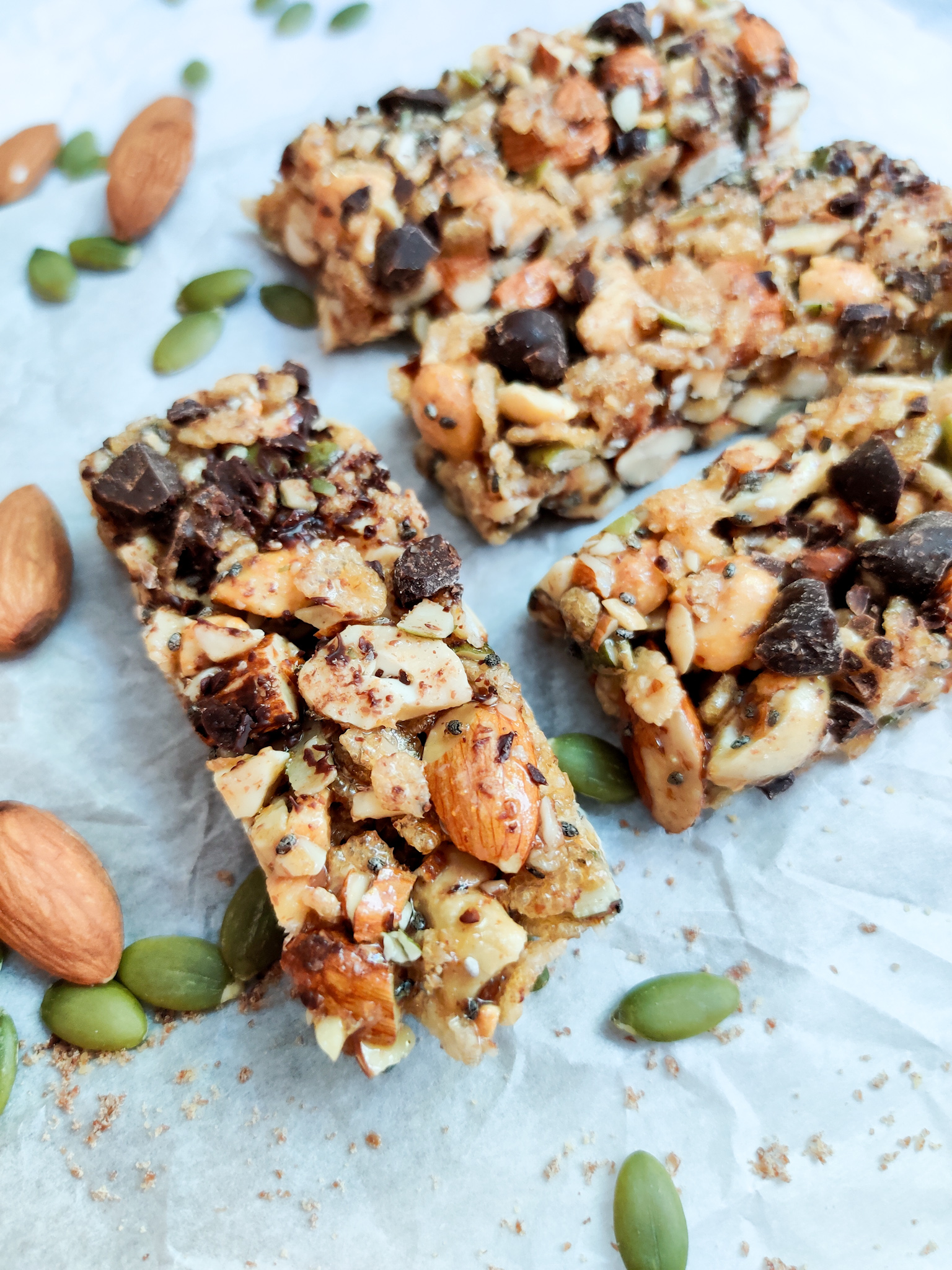 Chewy Nut and Seed Bars