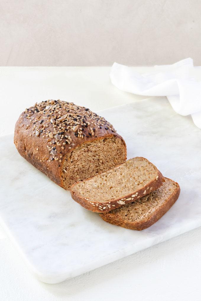 Gluten Free Flax Seed Bread