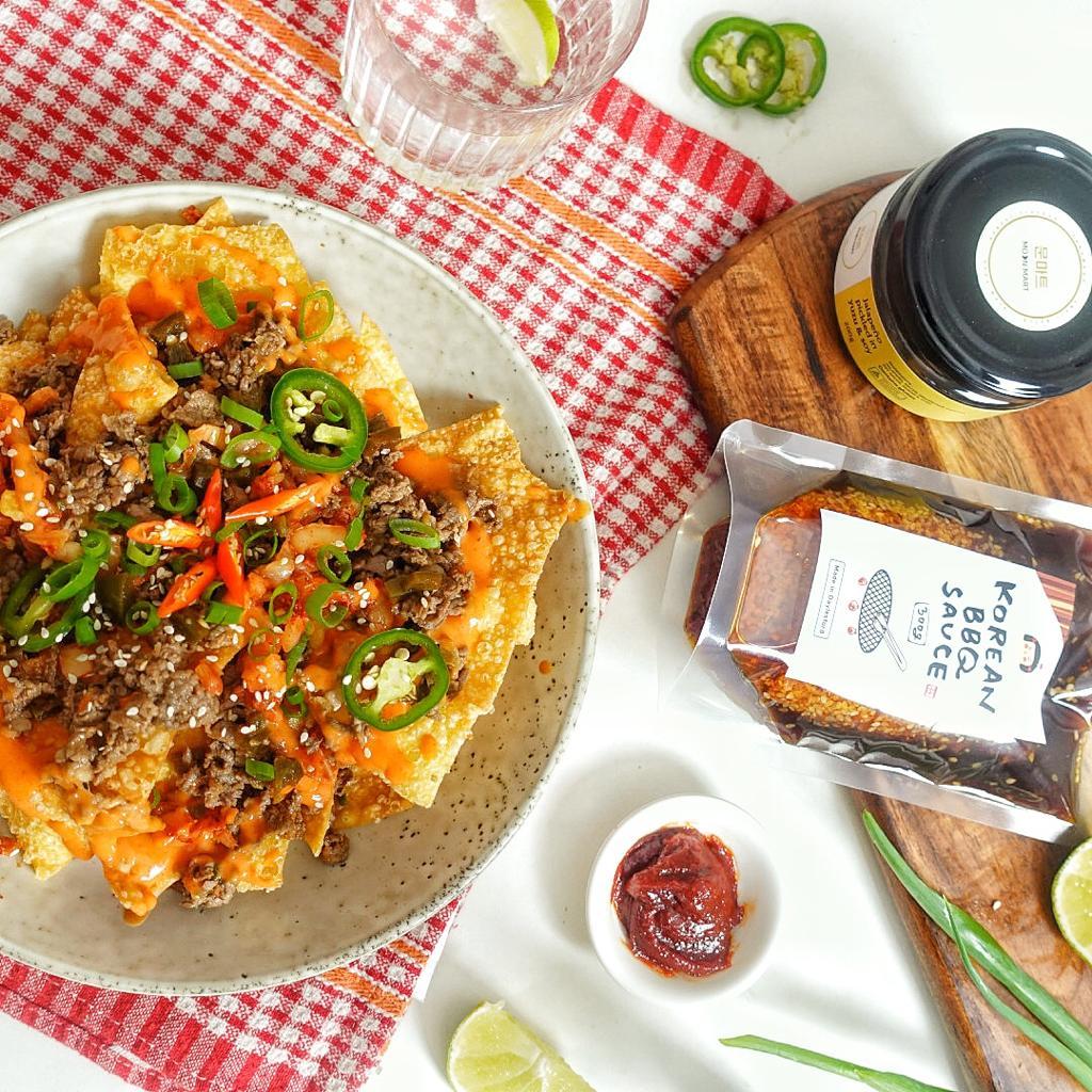 Asian Beef Bulgogi Nachos