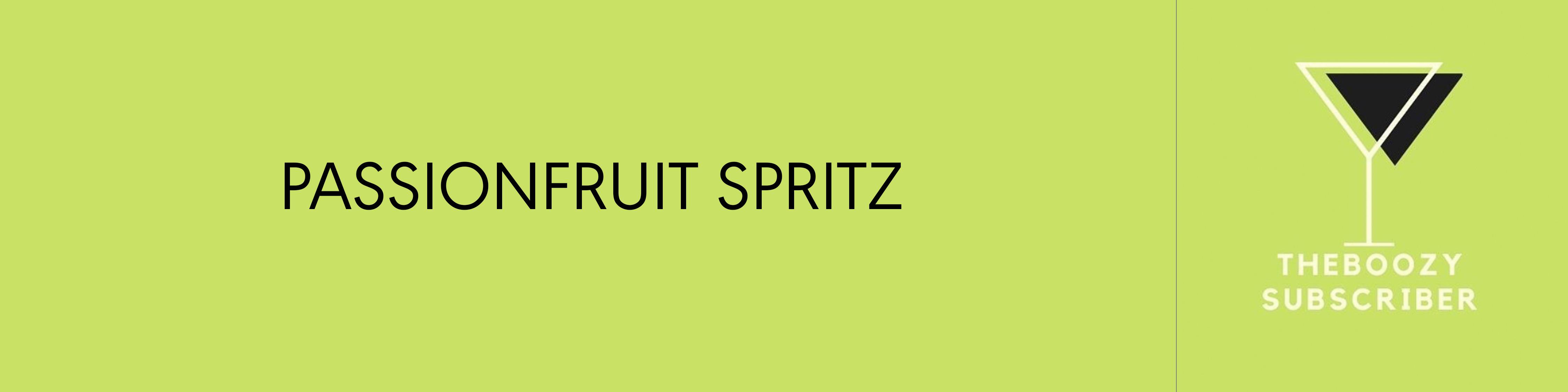 Passionfruit Spritz